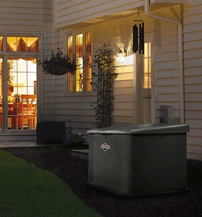 emergency home propane backup power generator installation service CNY